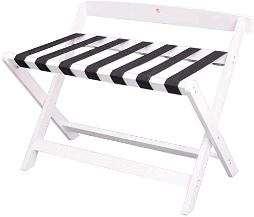 %53 OFF! QTQZDD Room Luggage Holder, Hotel Solid Wood Folding Luggage Rack, Travel Break Folding Sto...