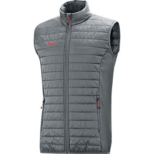 JAKO Herren Steppweste Premium Sonstige Jacke, steingrau, L