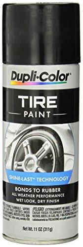 Dupli-Color Tire Paint Black, 11 Fluid Ounce (TP101)