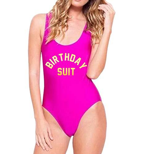 Yarsiman One Piece Swimsuits Womens Inspired Swimwear Bathing - Tummy Control Bathing Suits Monokini Swimwear