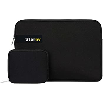 STAR NV BAGS Laptop Sleeve with Charger Pouch, 15.6 inch