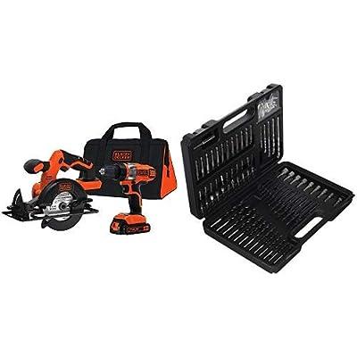 BLACK+DECKER BDCD220CS 20-volt Max Drill/Driver and Circular Saw Kit