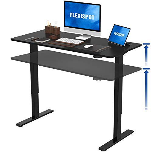 [Furniture] FlexiSpot Height Adjustbale Desk $198.49 (15% off + extra $14 off) [48 inch, black only]