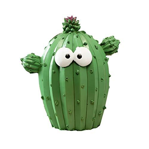 IMIKEYA Spardose mit Kaktus-Münzenzähler, für Jungen und Mädchen, Dekoration, zufällige Muster