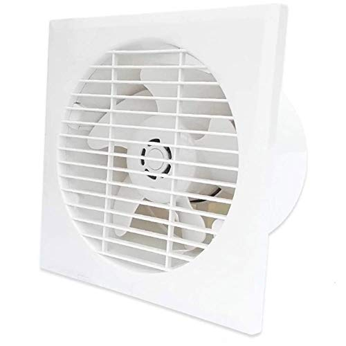 JYJZHX HQSBQISHAN 6 inch Exhaust Fan Home Bathroom Toilet Kitchen Low Noise Ventilator Wall Mounted Extractor Pipe Exhaust Fan
