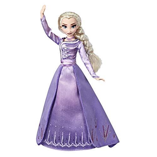 Disney Die Eiskönigin Elsa aus Arendelle Deluxe Modepuppe mit Outfit im Ombré-Look, inspiriert von Disneys Die Eiskönigin 2 – Spielzeug für Kinder ab 3 Jahren