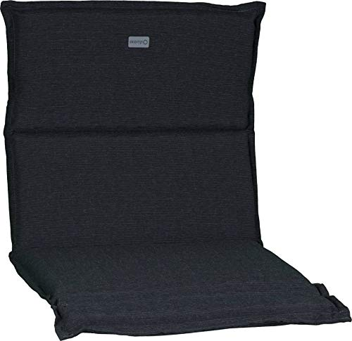 Beo Niederlehner acamp Sesselkissen dunkelgrau meliert Typ-B 92 x 47 x 4 cm passend für niedrige acatop und albergo Gartenstühle