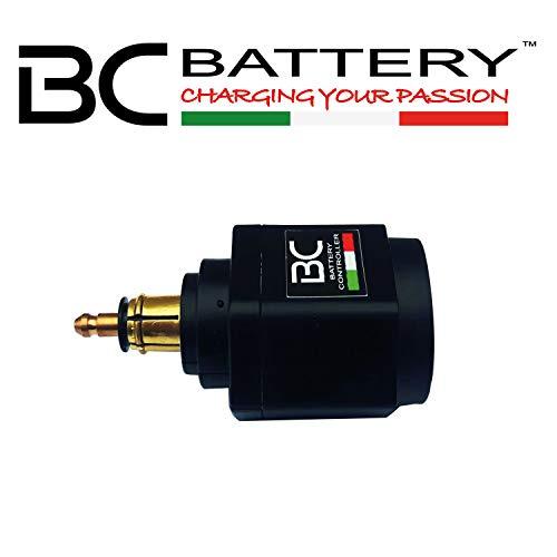 BC Battery Controller 710-USBDIN-VM USBDIN-VM - Doppia Presa USB + metro Batteria per Presa DIN.4165 (tipo )