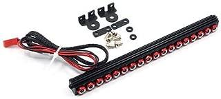 Yeah Racing 1/10 Aluminum White LED Light Bar Red for Crawler YA-0507RD