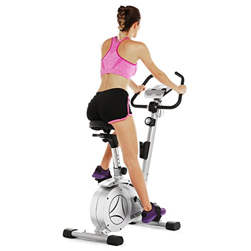 ANCHEER Upright Bike, Magnetic Exercise Bike (Sliver) Ancheer Categories magnetic upright