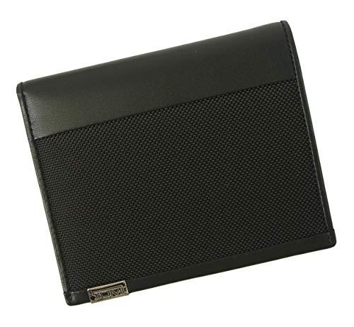 [トゥミ] パスポートケース カードケース メンズ ALPHA 二つ折(ブラック) TM-380 [並行輸入品]