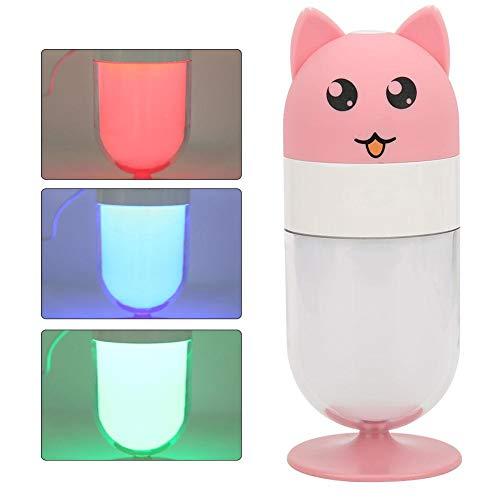 Mini USB-luchtbevochtiger Fox Cartoon Cute Pet Mute-luchtbevochtiger voor thuisauto Creatief huishoudelijk zwaar mistvolume