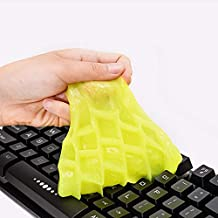HOTKEI Multipurpose Reusable Slime Keyboard PC Laptop Electronic Office Products Dust Cleaner Cleaning Gel Remover Jelly 80 Gm