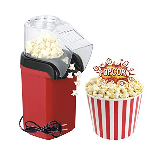 For Sale! Electric Hot Air Popcorn Popper Machine with Measuring Cup and Removable Lid, No Oil Neede...