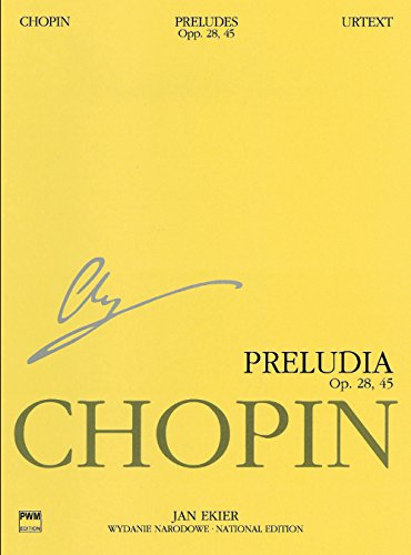 Preludes: Chopin National Edition Vol. VII (National Edition of the Works of Fryderyk Chopin, Series a, Band 7)