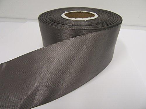 Gris Bobine de 27 mètres de Ruban d/'Organza Qualité extra. 6 mm