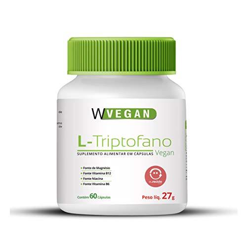 L Triptofano Vitamina B12 B6 Magnesio 500Mg 60 Capsulas Vegan Wvegan