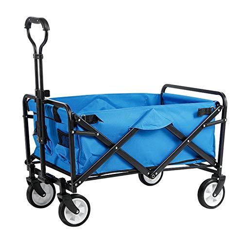 Einkaufstrolleys Faltbare Picknick Wagen Camping Fischen Handcart Lebensmittel Warenkorb 5