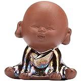 GJZEYBJE Tea Pet Boutique Puede Levantar Mini Arena púrpura Zen Kung Fu Bonsai Adornos de Escritorio de Interior