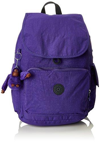 Kipling Damen City Pack Rucksack, Violett (Summer Purple), 32x37x18.5 cm