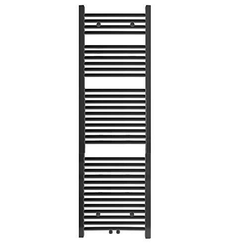 S SIENOC radiador de baño 600 x 1600 mm Blanco conexión Central radiador Calentador de Toallas secador de Toallas