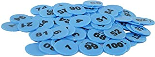 Amit Marketing 1 to 500 Numerical Coins Blue Color