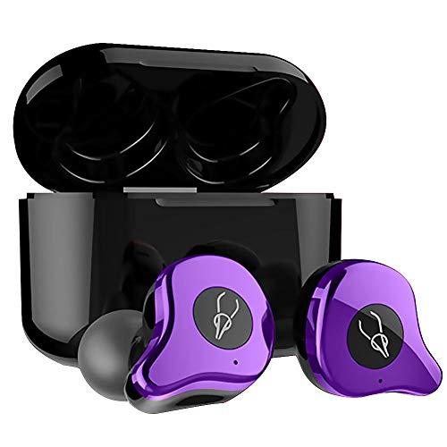 Domybest - Auriculares Bluetooth Sabbat E12 Ultra QCC3020 TWS Bluetooth 5.0 auriculares inalámbricos intraurales APTX auriculares estéreo con caja de carga