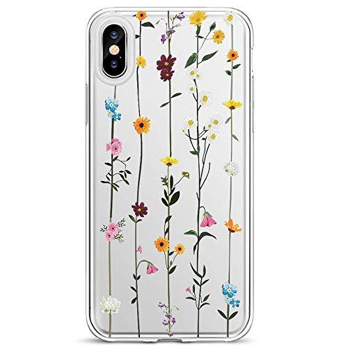 Lajer Hülle Schutzhülle für Apple iPhone XS Max XS XR X Handyhülle Ultra Dünn Transparent Flexibel Weich TPU Silikon Stoßfest mit süßes Motiv Crystal Handytasche Clear Case Cover (iPhone XR, Farbe-2)