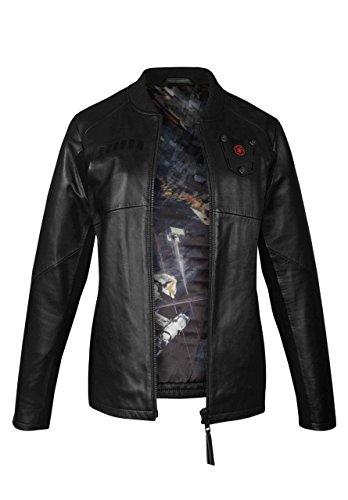 Musterbrand Star Wars Lederjacke Damen Tie Pilot Limited Edition schwarz 34 (XS)