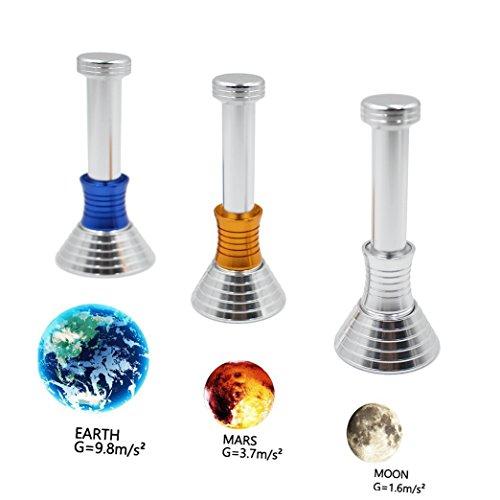 Autbye Moon Drop Schreibtisch Spielzeug Dekompression Gravity Defying DIY Spielzeug, Gravity auf Mond, Erde und Mars für Arbeit Klasse Kinder Erwachsene die Verringerung der Stress -3 Sets