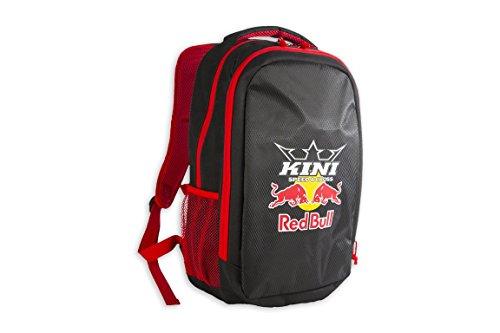 Kini Red Bull MX Racing Rucksack, Freizeitrucksack mit Laptopfach, RB Sportrucksack Schwarz/Rot