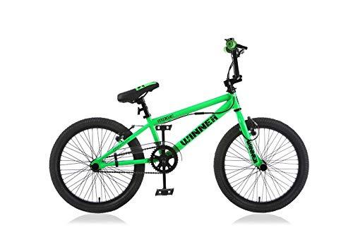 20 Zoll BMX Kinder Fahrrad Rad KINDERFAHRRAD JUGENDFAHRRAD Freestyle 4 Pegs Winner GRÜN