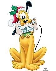 Star Cutouts Ltd Divertido cartón 1 dimensión tamaño Real Disney Plutón Carol Carta a Papá Noel, 90 x 56 cm, decoración Fiestas Infantiles, grutas y escaparates, Star Mini