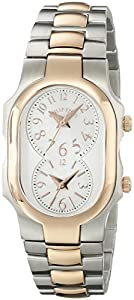 Philip Stein Women's 1TRG-FMOP-SS3TRG Signature Analog Display Japanese Quartz Two Tone Watch
