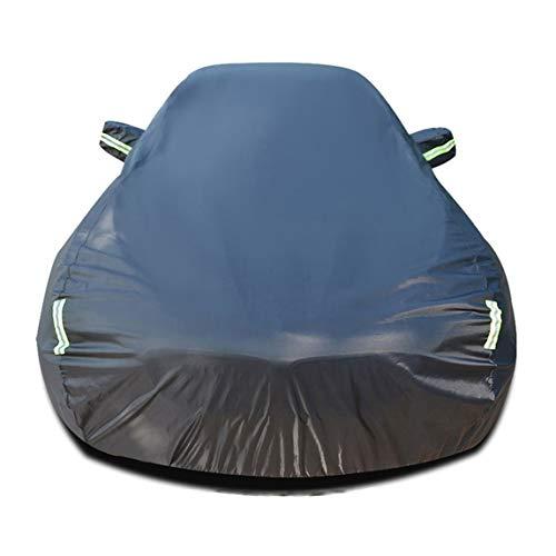 Autoabdeckung Kompatibel mit Nissan X-Trail Auto Abdeckplane Autoabdeckung Vollgarage Outdoor Autoschutzdecke Auto Autogarage Vollgarage mit Reflexstreifen Wasserdicht Autoplane Ganzgarage