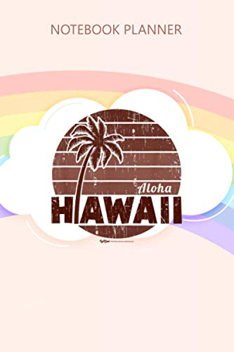 Notebook Planner Vintage Hawaiian Islands Hawaii Aloha State: Over 100 Pages, High Performance, Planning, Journal, Gym, Personal Budget, Schedule, 6x9 inch
