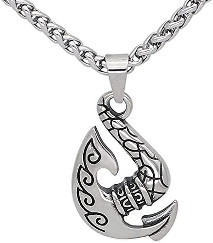 AMOZ Collares, Joyería, Usados Para el Collar Colgante Nórdico Del Amuleto de la Runa Del Hacha Vikinga Del Acero Inoxidable