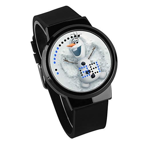 zhoudreamteam 420 Game-Periphere Uhr Luminous Touch LED Kreative Elektronische Studenten Uhr