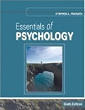 Essentials of Psychology, 6th Sixth 6e Edition, by Stephen Franzoi, Loose-Leaf (only the textbook book)