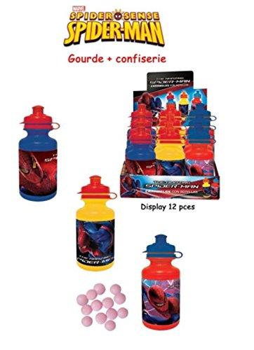 Spider Man - Gourde + Sachet de Bonbons Spiderman