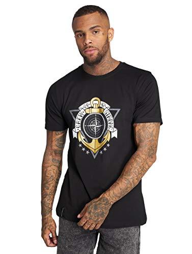 Cayler & Sons Herren T-Shirts Crew Strong schwarz M
