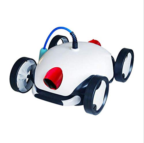 Purchase YBZS Automatic Pool Cleaner, Floating Battery, 180μm Filter Accuracy, Remote-Operated Pool Cleaning Robot, Suitable for Flat-Bottomed and Small Pools with a Slope of 35°
