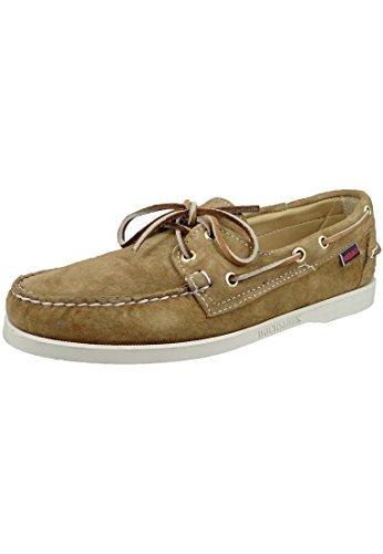 Sebago Men's Docksides Boat Shoe,Sand Suede,7 M US