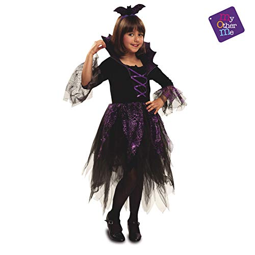 My Other Me - Vampiresa Halloween Vampiresa Disfraz, Multicolor, 7-9 años, Fun Company 200179