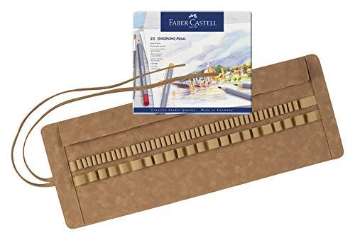 Faber-Castell 180010 Art & Graphic - Estuche de 48 lápices de acuarela