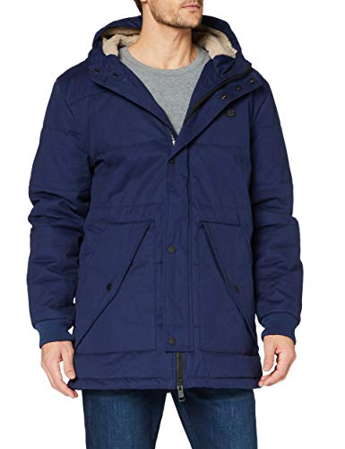 Ben Sherman Quilted Mountaineering Jacket Chaqueta acolchada, Twilight, S para Hombre