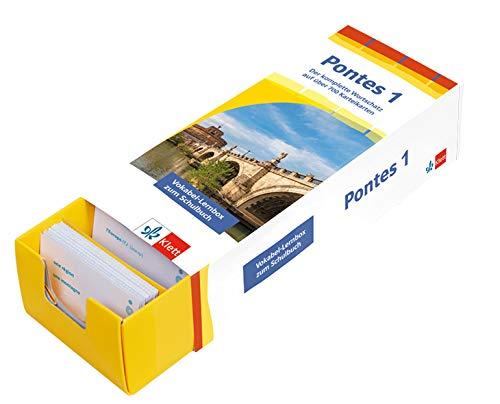 Pontes Gesamtband 1 (ab 2020) Vokabel-Lernbox zum Schulbuch 1. Lernjahr: Latein passend zum Lehrwerk üben