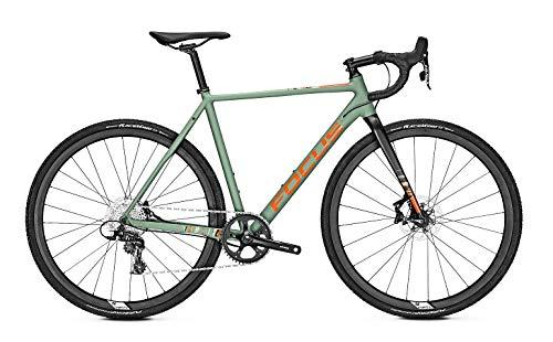 Focus Mares 6.9 Bicicleta de cross 2019, color verde, tamaño L/56cm, tamaño de rueda 28.00