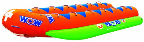 Buy Bargain WOW World of Watersports, 12-8050, Resort Sports 12 Rider Closed Bow Towable Banana Boat