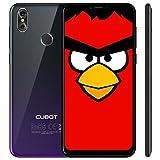 CUBOT P20 Ultra Dünn 4G-LTE Dual Sim Smartphone ohne Vertrag, 6.18' (19:9) IPS FHD+ Touch Display mit 4000mAh Akku, 4GB Ram + 64GB interner Speicher, 20MP + 2 MP/13MP, Android 8.0, Octa-Core, Gradient